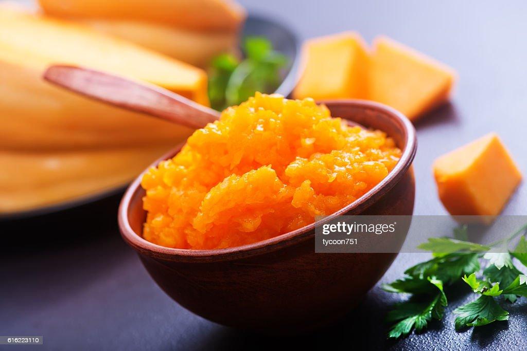 pumpkin porridge : Stock Photo