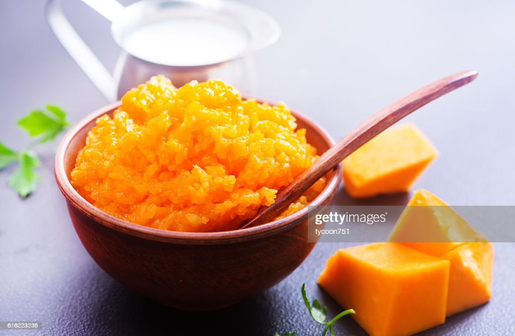 pumpkin porridge : Stock Photo