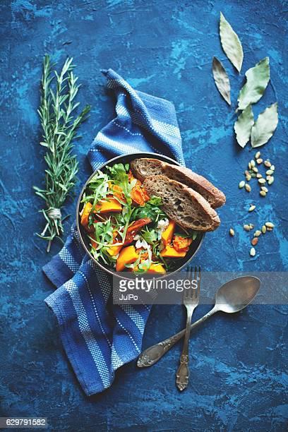 Salade à la citrouille