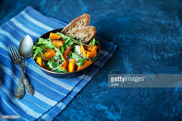 pumpkin salad - lunch stock pictures, royalty-free photos & images