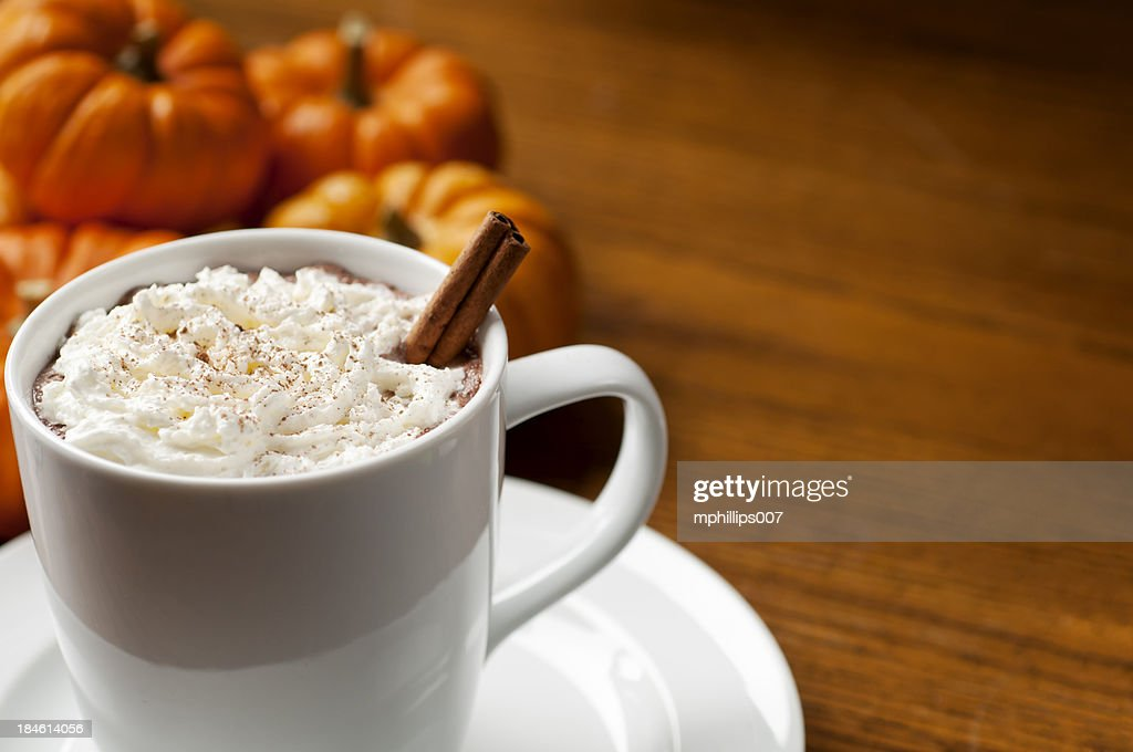 Pumpkin Spice Latte : Stock Photo