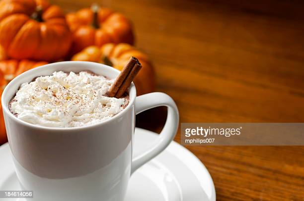 Calabaza Spice un café con leche