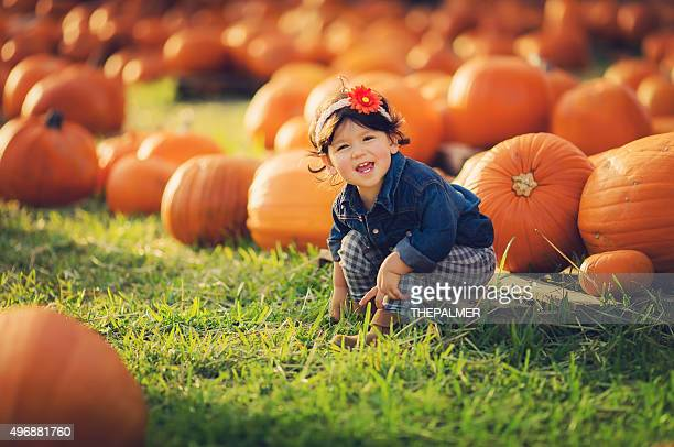 pumpkin time - kids thanksgiving stock pictures, royalty-free photos & images