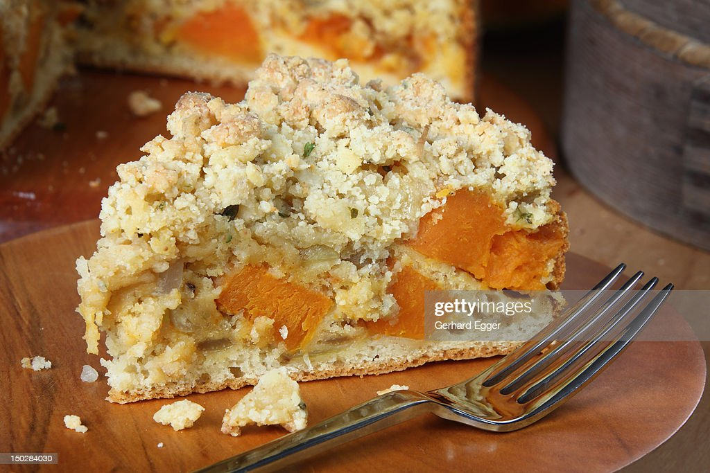 Pumpkin torte : Stock Photo