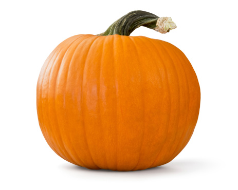 pumpkin with clipping path 185888911