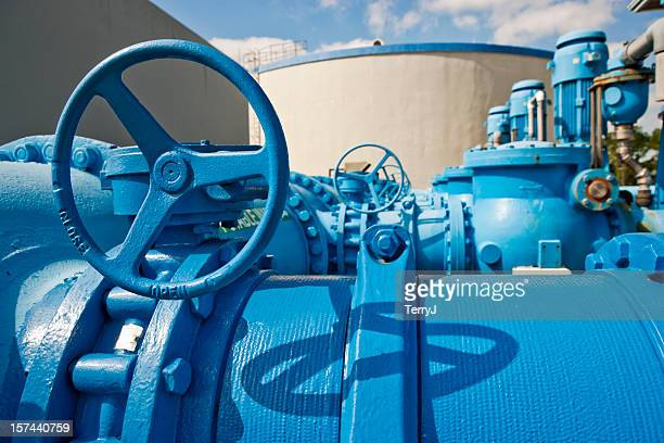 pumps used to transfer fresh water at public utility - sewer stock pictures, royalty-free photos & images