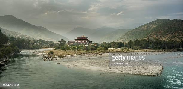 Punakha Dzong- A panorama