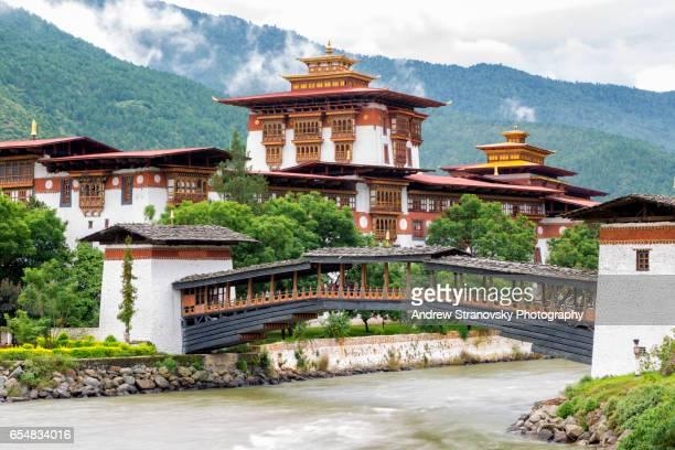 punakha dzong, bhutan - プナカ ストックフォトと画像