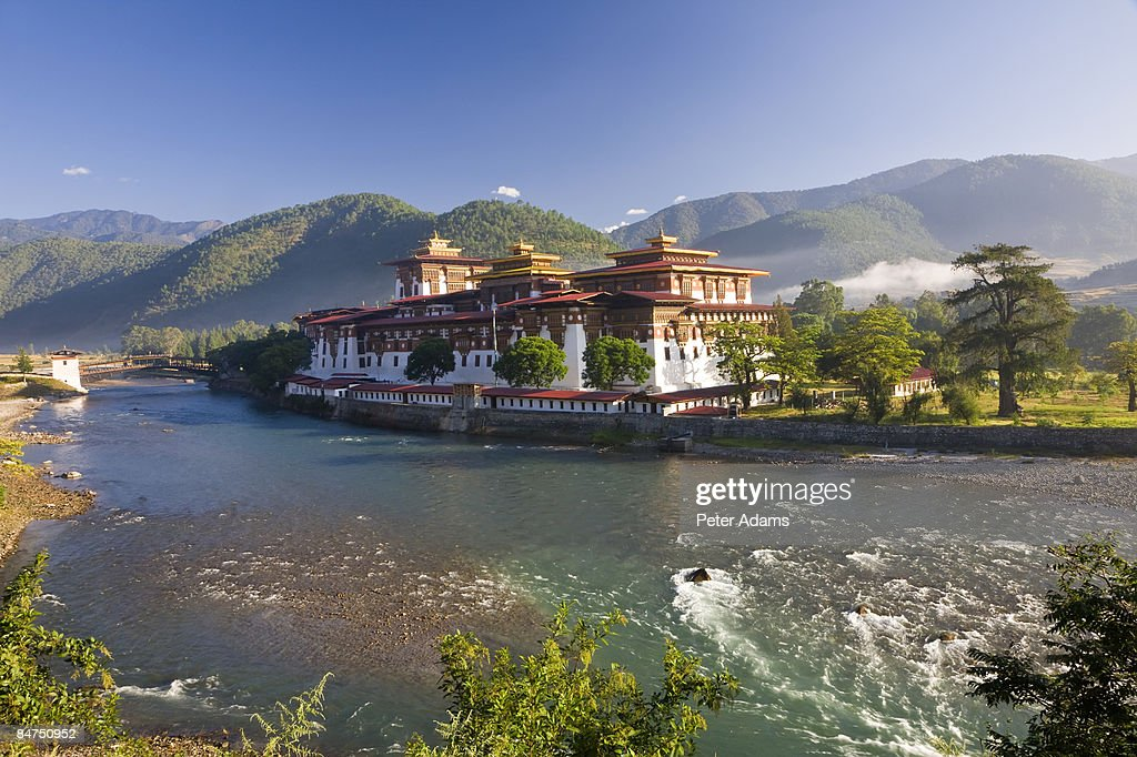 Punakha Dzong, Bhutan : ストックフォト