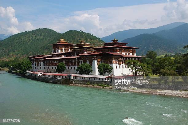 Punakha Dzong (Pungtang Dechen Photrang Dzong), Punakha, Bhutan