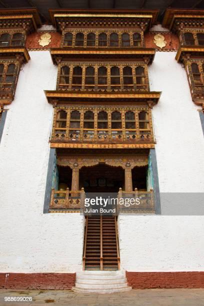 punakha fortress monastery, paro, bhutan, asia - paro district stock pictures, royalty-free photos & images