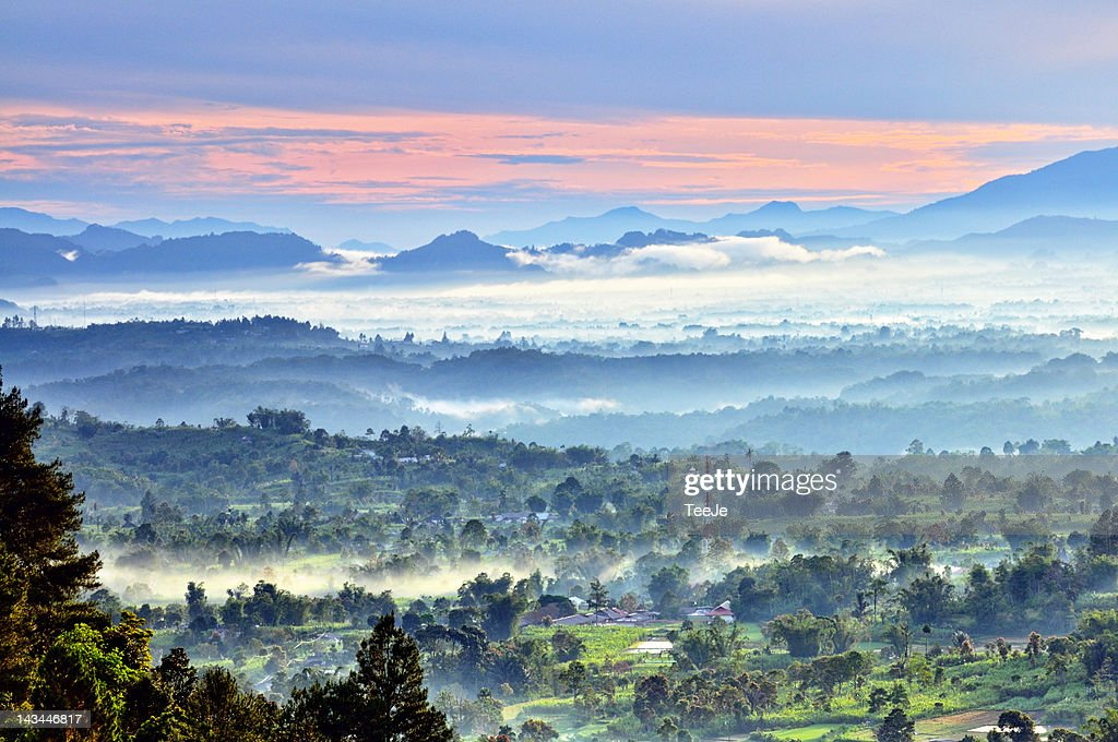 Puncak Lawang : Stock Photo