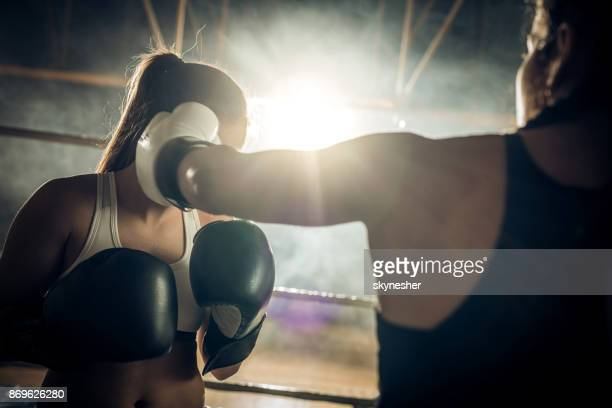 Punch on a boxing match!