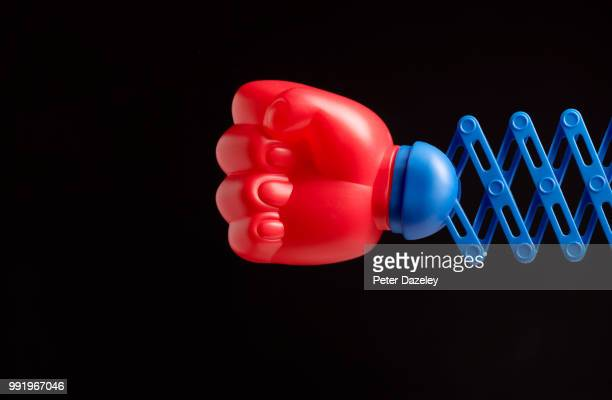 punch on black background with copy space - punching stock pictures, royalty-free photos & images