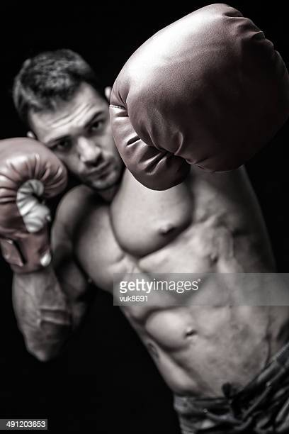 punch - mixed martial arts stockfoto's en -beelden