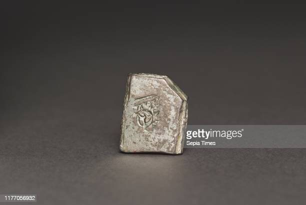Punch-Marked Coin, 400-300 BC. India, Rajasthan, Maurya Period . Silver; overall: 1.4 x 1.2 cm .