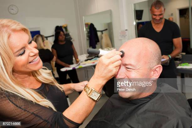 MOTD pundit Alan Shearer has make up applied before Saturdays live show Match of the Day is the BBC's main football television programme Typically it...
