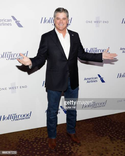 Pundit Sean Hannity attends 'The Hollywood Reporter's 35 Most Powerful People In Media 2017' at The Pool on April 13 2017 in New York City