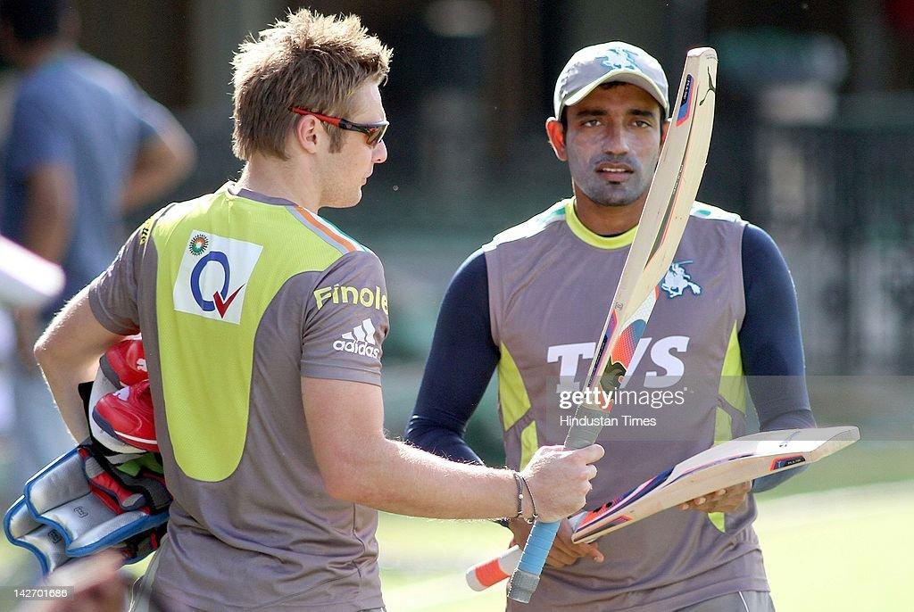 Pune Warriors Practice Session