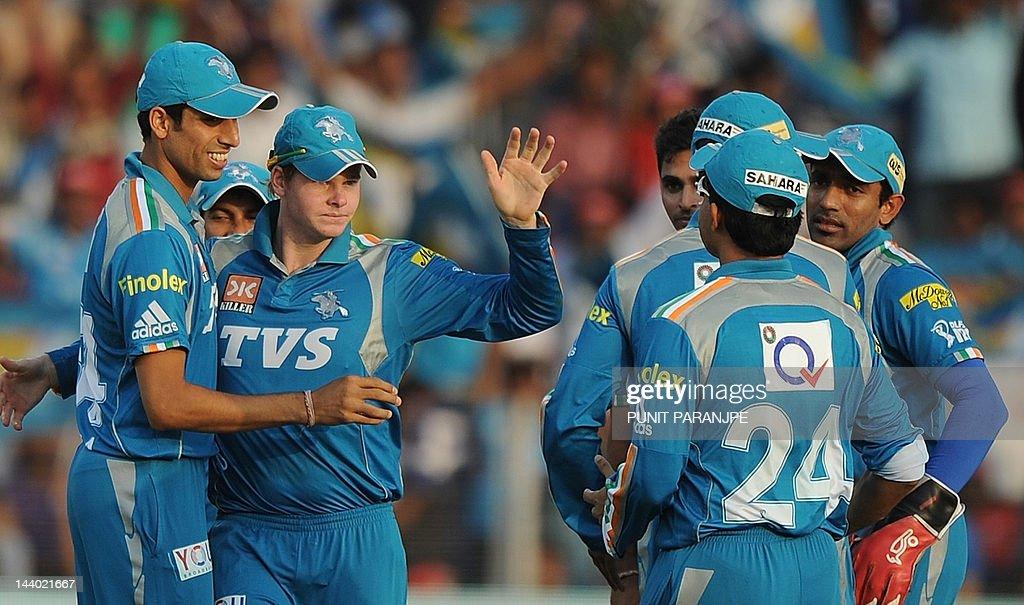 Pune Warrirors India player Steven Smith : News Photo
