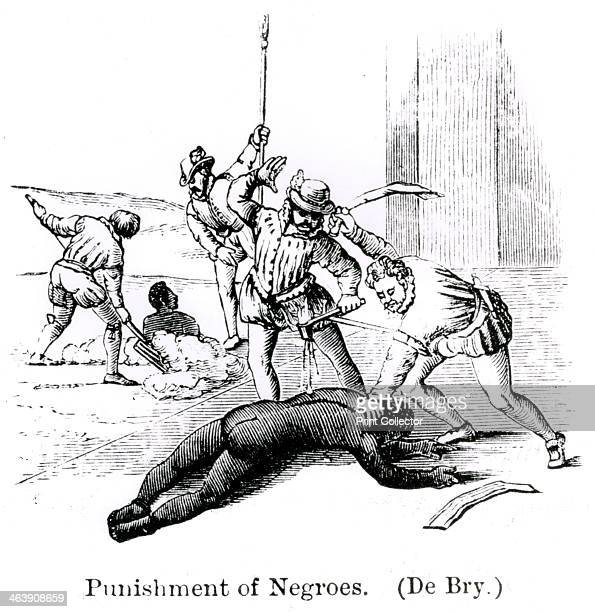 'Punishment of Negroes' 1873 From Santo Domingo past and present with a glance at Hayti by Samuel Hazard 1873