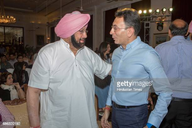 Punjab Chief Minister Captain Amarinder Singh during the launch of a book titled 'Captain Amarinder Singh The People's Maharaja An Authorized...