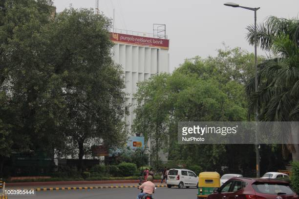 Punjab National Bank can be seen in New Delhi India on 22 July 2018