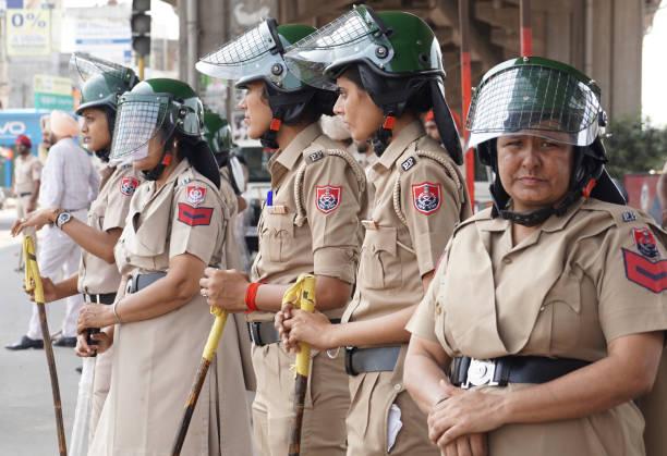 Punjab Police security deployed in Zirakpur kalka Chowk ahead of CBI court Final hearing of Sant Ram Rahim Singh Insan Rape and Murder case on August.
