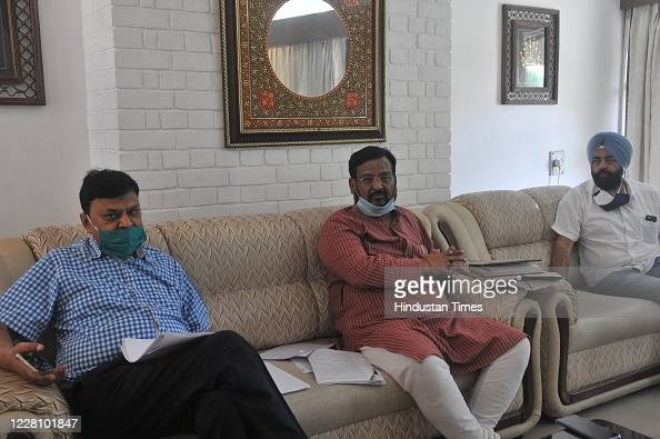 Punjab University Syndicate Members During A Press Conference At News Photo Getty Images
