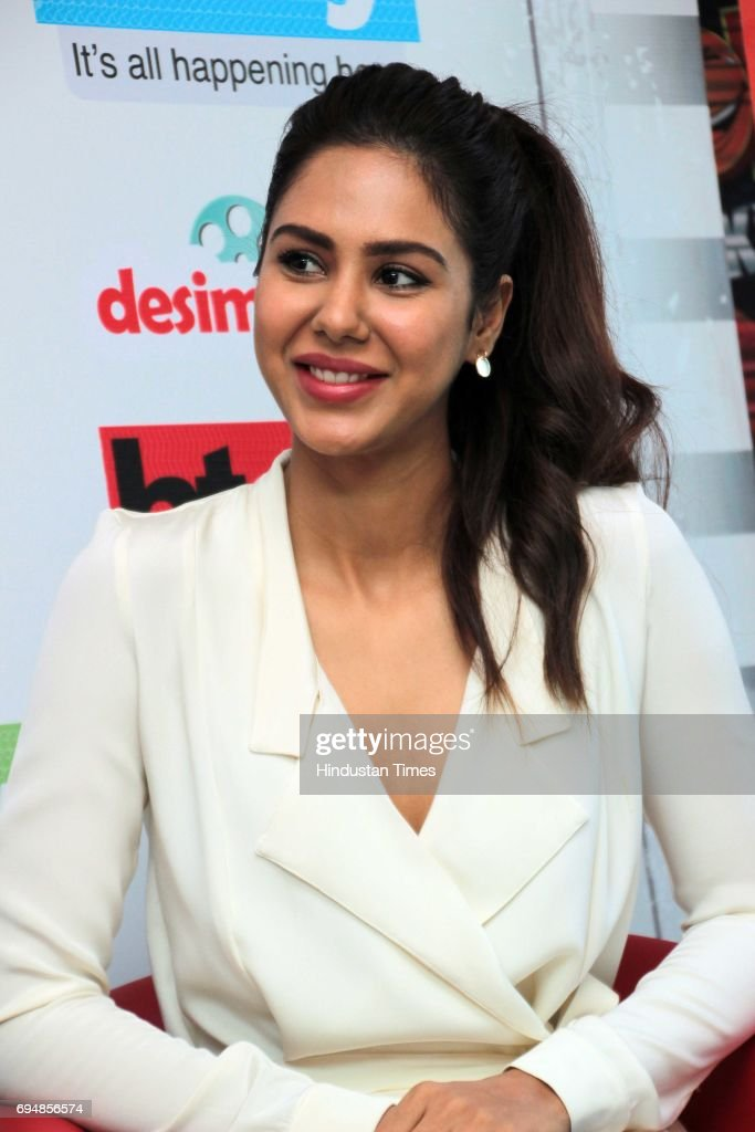 Punjabi actor Sonam Bajwa during an exclusive interview with HT CityHindustan Times for the promotion of upcoming movie 'Super Singh' as part