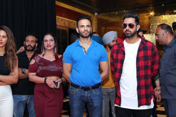 Punjabi movie actor Gippy Grewal during the promotion of upcoming Punjabi movie Carry On Jatta 2 at The Theatre Club Lounge Paschim Vihar on May 27...