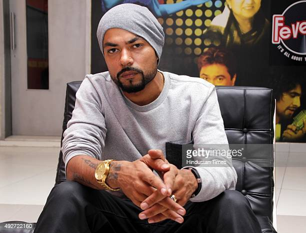 Punjabi Rapper Bohemia poses during an exclusive interview with HT CityHindustan Times at HT Media Office on September 15 2015 in New Delhi India