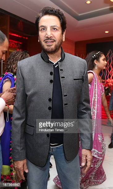 Punjabi singer Gurdas Maan during prewedding party of singer Daler Mehndi's daughter Ajit Kaur with Navraj Singh son of singer Hans Raj Hans on...