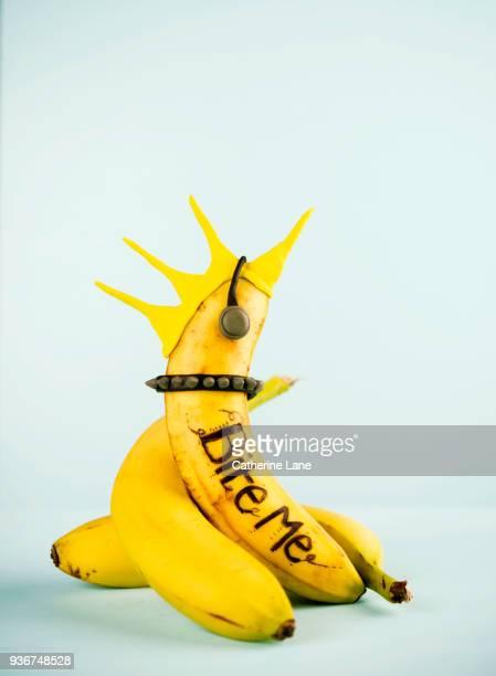 Punk Banana Food Character