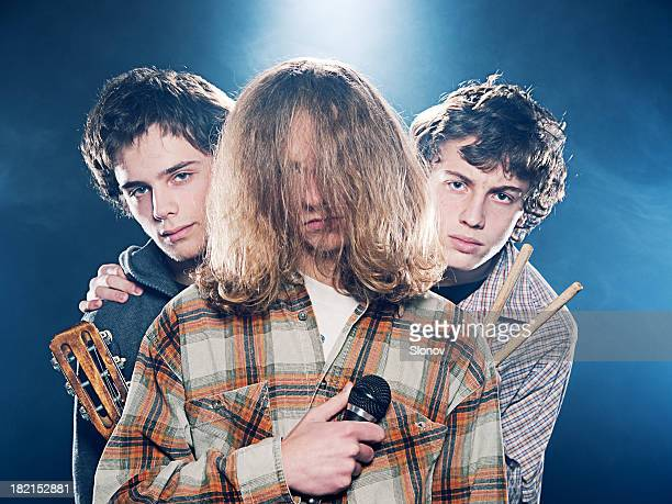 punk band - rock band stock photos and pictures
