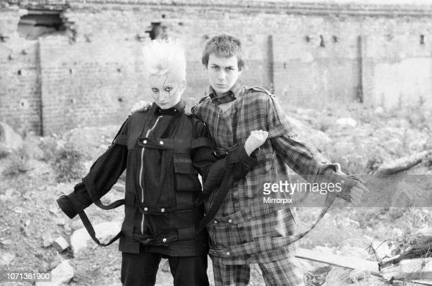 Punk fashions for him and her from Seditionaries Kings Road London Clothes are modelled by Simon and Jordan 18th May 1977