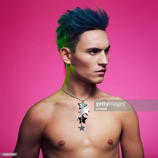 Punk male beauty