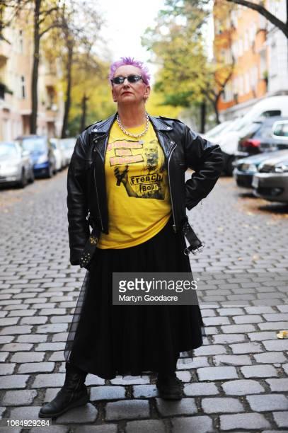 Punk model Jordan portrait in Berlin Germany 3rd November 2018