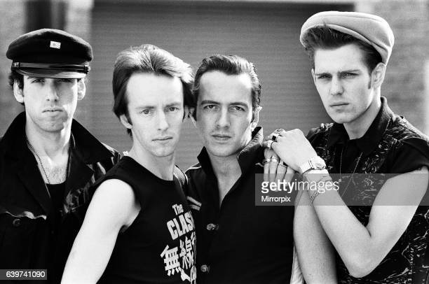 Punk rock group The Clash. 21st April 1982.