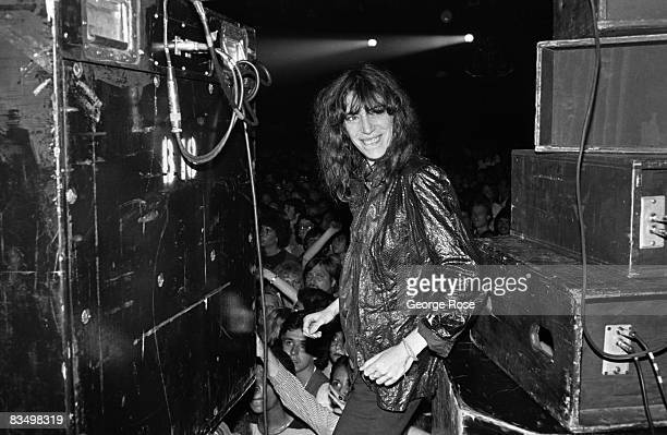 Punk rock poet laureate Patti Smith performs songs from her 'Easter' album during a 1979 Hollywood California concert at The Palladium