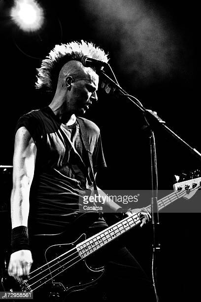 punkrock star - mohawk stock pictures, royalty-free photos & images