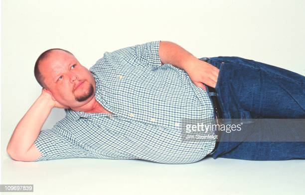 Punk rocker Frank Black poses for a portrait in Los Angeles California on July 27 1998