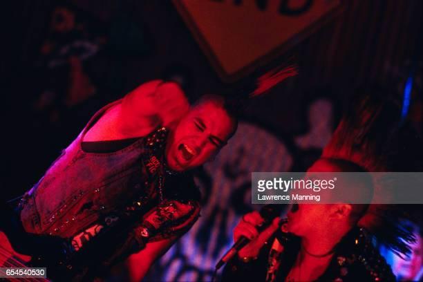 punk singers - パンクロック ストックフォトと画像