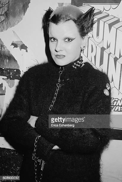 Punk Soo Catwoman at the Hope and Anchor Islington London 1976