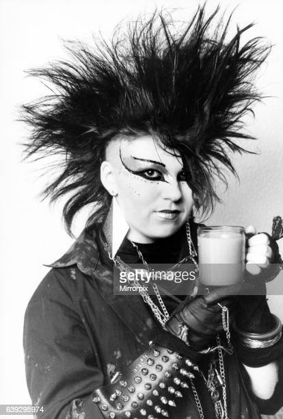 Punk teenagers in Birmingham are protesting about a 'discriminatory' increase in the price of a cup of tea in the restaurant at Rackhams They claim...