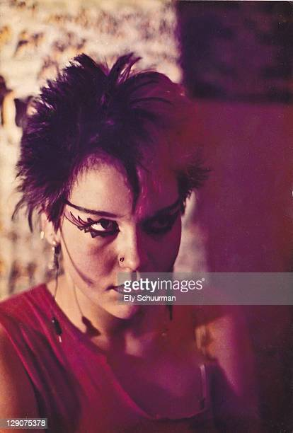 Punkgirl in the late 70's