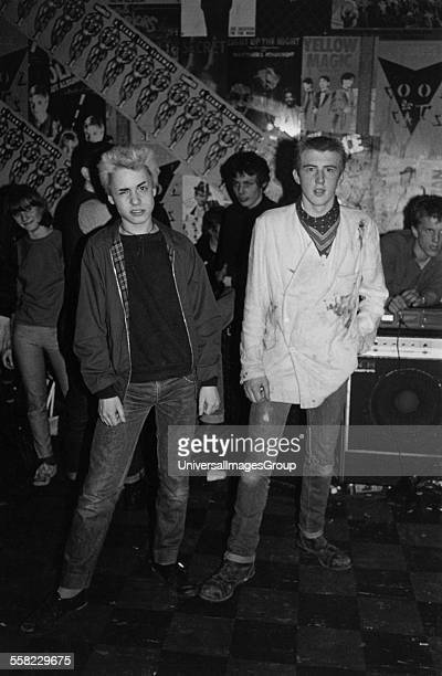 Punks at the Roxy London England April 1977