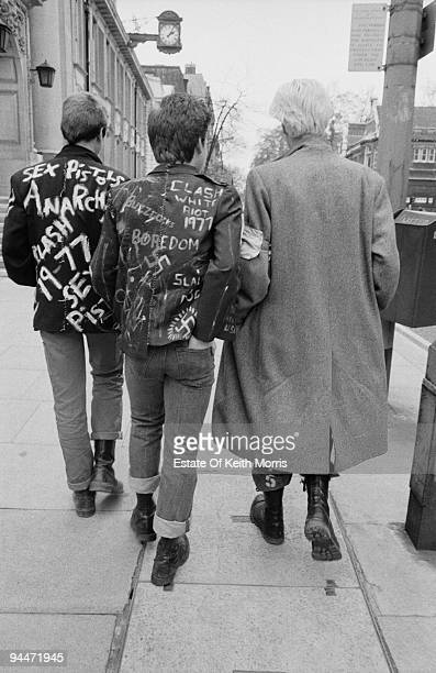 Punks on the King's Road in London's Chelsea 1977