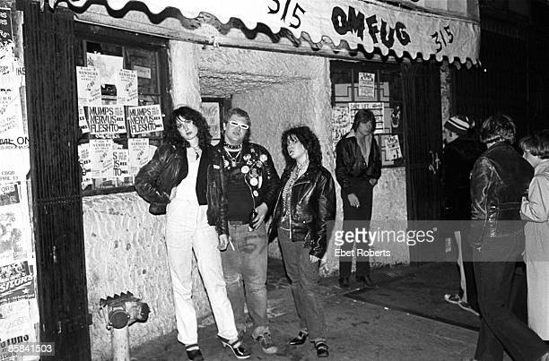 S Photo of PUNKS Punks outside CBGB's