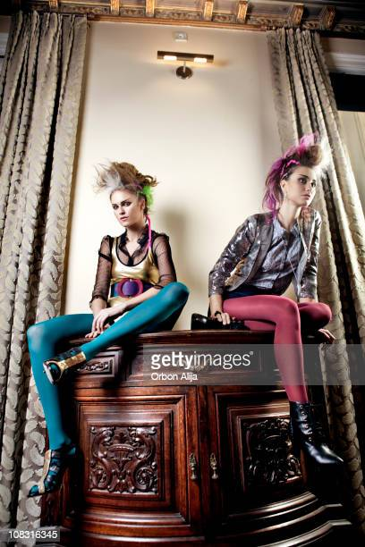 punks - 80s punk rock stock photos and pictures